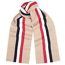 Buy Gloverall College Stripe Pure Wool Scarf, Iraq Medal Online at johnlewis.com