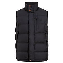 Buy Timberland Howker Down Gilet, Dark Navy Online at johnlewis.com