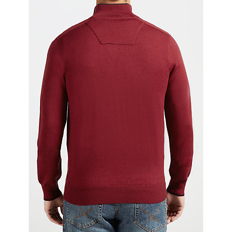 Buy Timberland Merino Wool Zip Neck Jumper Online at johnlewis.com