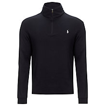 Buy Polo Ralph Lauren Half Zip Jersey Jumper Online at johnlewis.com