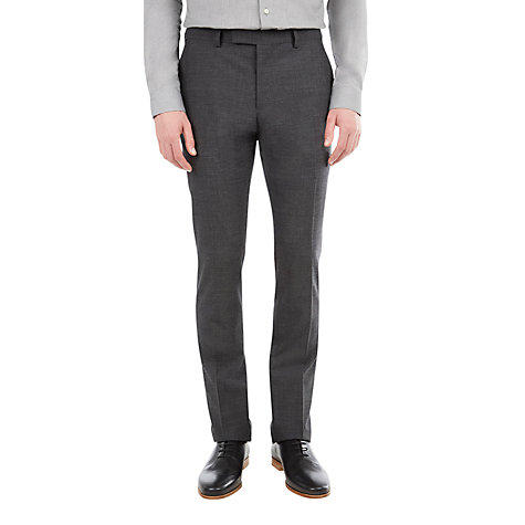 Buy Ben Sherman The Kings Notch Trousers, Charcoal Online at johnlewis.com