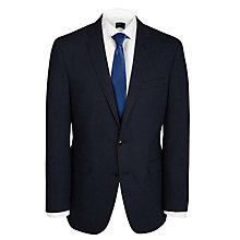 Buy Ben Sherman Single-Breasted Notch Lapel Jacket, Navy Online at johnlewis.com