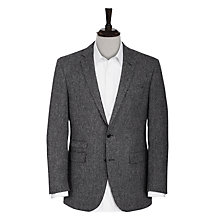 Buy Ben Sherman Tailoring Kings British Tweed Blazer, Grey Online at johnlewis.com