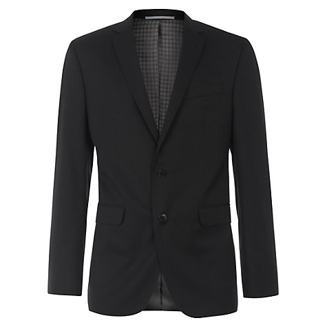 Buy Ben Sherman Tailoring Kings Fit Plain Suit Jacket, Black Online at johnlewis.com