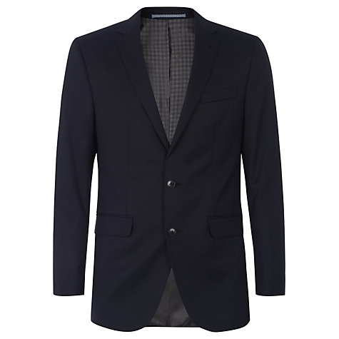 Buy Ben Sherman Tailoring Kings Fit Plain Suit Jacket, Navy Online at johnlewis.com