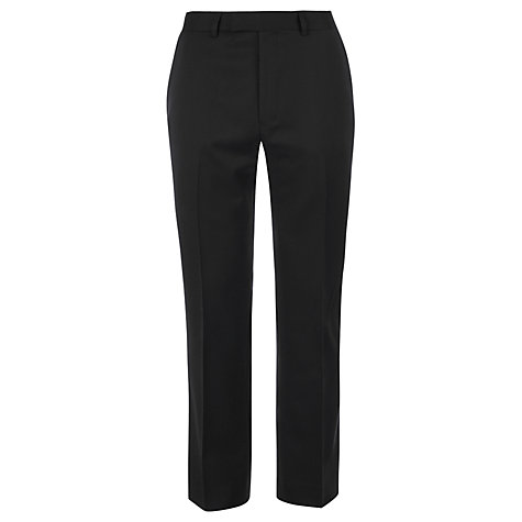 Buy Ben Sherman Tailoring Kings Fit Plain Suit Trousers, Black Online at johnlewis.com