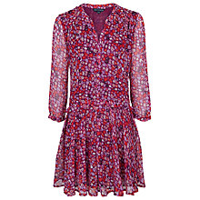 Buy French Connection Marble Dress, Autumn Prune Multi Online at johnlewis.com