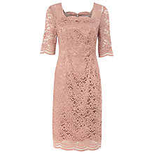 Buy Kaliko Lace Dress, Neutral Peach Online at johnlewis.com