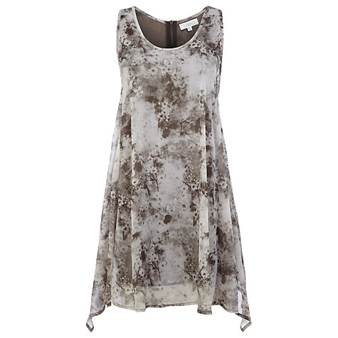 Buy Kaliko Cherry Blossom Tunic Top, Neutral Online at johnlewis.com
