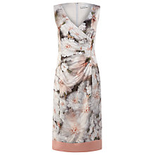 Buy Kaliko Grace Print Dress, Orange Online at johnlewis.com