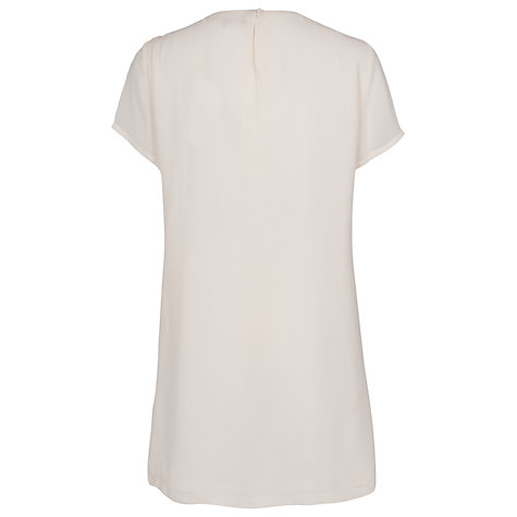 Buy French Connection Horse Lace Tunic Dress, Black Online at johnlewis.com