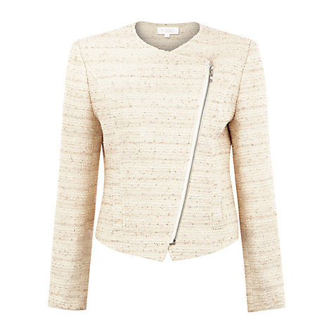 Buy Kaliko Bouclé Jacket, Neutral Online at johnlewis.com