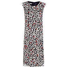 Buy Windsmoor Spot Chiffon Dress, Blue Online at johnlewis.com
