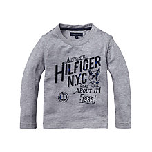Buy Tommy Hilfiger Boys' Established Long Sleeve Top Online at johnlewis.com