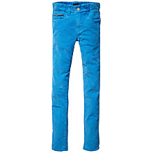 Buy Tommy Hilfiger Boys' Sid Corduroy Skinny Fit Trousers, Blue Online at johnlewis.com