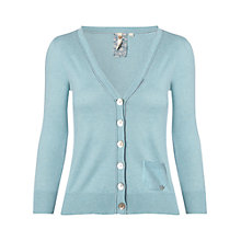 Buy White Stuff Coco Cardigan, Duck Egg Online at johnlewis.com