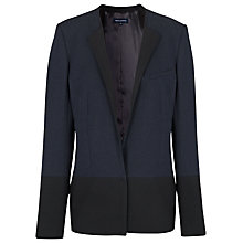 Buy French Connection Pepper Tailored Jacket, Navy / Black Online at johnlewis.com