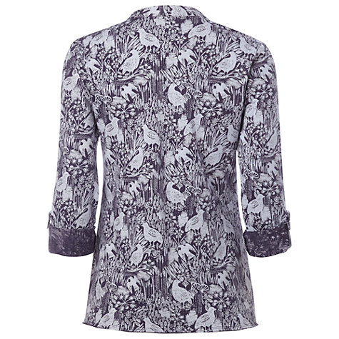 Buy White Stuff Dream Shirt, Deep Mulberry Purple Online at johnlewis.com