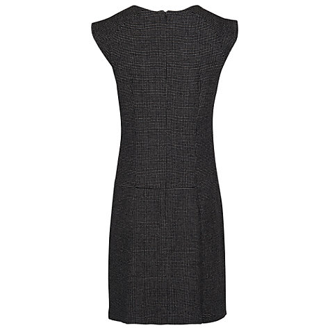 Buy French Connection Pop Dot Dress, Black/White Online at johnlewis.com