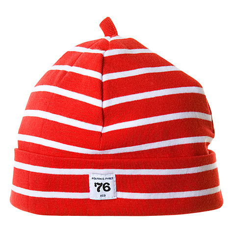 Buy Polarn O. Pyret Striped Baby Beanie Hat Online at johnlewis.com
