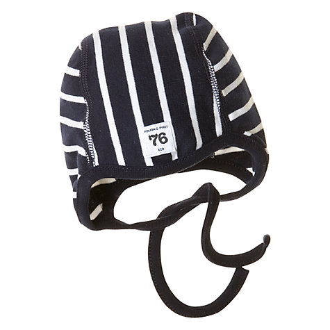Buy Polarn O. Pyret Striped Baby Hat Online at johnlewis.com