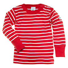 Buy Polarn O. Pyret Striped Baby Top Online at johnlewis.com