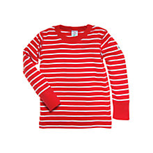Buy Polarn O. Pyret Striped Long Sleeved Top Online at johnlewis.com