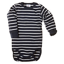 Buy Polarn O. Pyret Striped Bodysuit Online at johnlewis.com