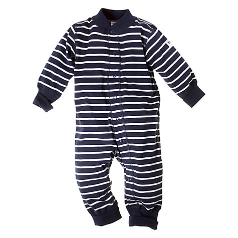 Buy Polarn O. Pyret Baby Striped All In One Online at johnlewis.com
