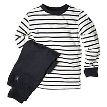 Buy Polarn O. Pyret Striped Pyjamas Online at johnlewis.com
