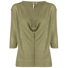Buy White Stuff Fredrick Knitted Top, Sage Green Online at johnlewis.com