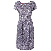 Buy White Stuff All Day Long Dress, Deep Mulberry Purple Online at johnlewis.com