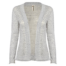 Buy White Stuff Calla Cardigan, Silver Grey Online at johnlewis.com