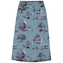 Buy White Stuff Inside Out Reversible Skirt, Duck Egg Online at johnlewis.com