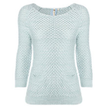 Buy White Stuff Cool Mist Jumper, Light Duck Egg Online at johnlewis.com