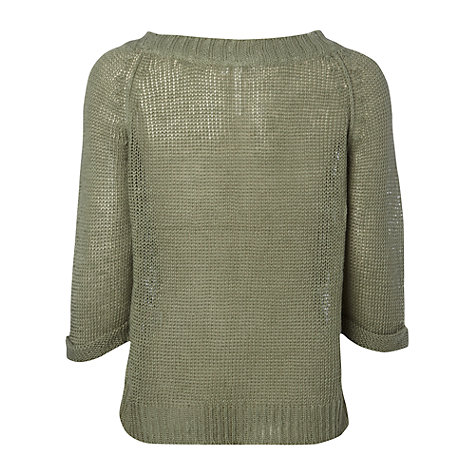 Buy White Stuff New York Jumper, Sage Green Online at johnlewis.com
