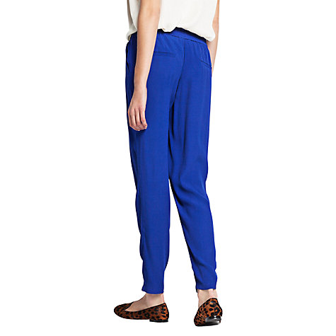 Buy Mango Flowing Trousers Online at johnlewis.com