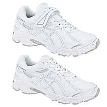 Buy Asics Gel Galaxy 6 SL PS Trainers, White Online at johnlewis.com