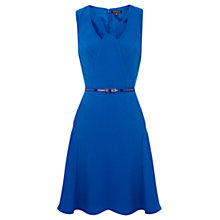 Buy Warehouse Cut Out Bubble Dress, Bright Blue Online at johnlewis.com