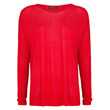 Buy Mango Ribbed Shoulder Sweater Online at johnlewis.com