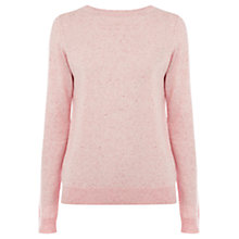 Buy Warehouse Zip Back Crew Jumper Online at johnlewis.com