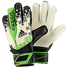 Buy Adidas Junior Predator Fingersave Goalkeeper Gloves Online at johnlewis.com