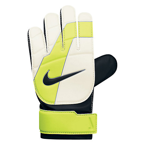 Buy Nike Junior Shot Block Goalkeeper Gloves Online at johnlewis.com