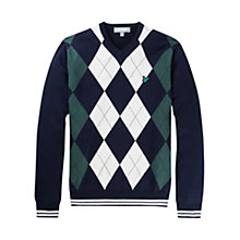 Buy Lyle & Scott Golf Argyle V-Neck Jumper Online at johnlewis.com