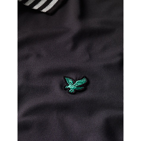 Buy Lyle & Scott Golf Striped Collar Polo Shirt Online at johnlewis.com