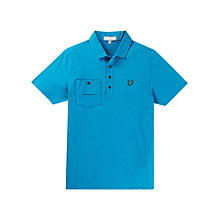 Buy Lyle & Scott Golf Pocket Polo Shirt Online at johnlewis.com