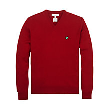 Buy Lyle & Scott Golf V-Neck Club Jumper Online at johnlewis.com
