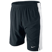 "Buy Nike Boy's 7"" Tempo Running Shorts, Black/Grey Online at johnlewis.com"