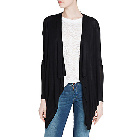 Buy Mango Asymmetric Knitted Cardigan Online at johnlewis.com