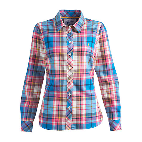 Buy Joules Milford Check Shirt, Red Check Online at johnlewis.com